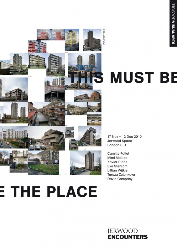 Camille Fallet - This Must Be The Place - *This Must Be The Place*,  Jerwood Institute, Londres 2011
